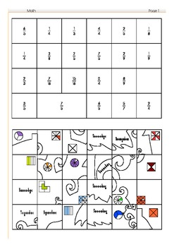 Fraction - Puzzle