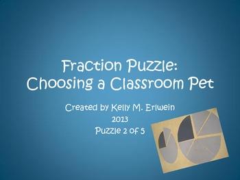 Fraction Puzzle:  Adopt-A-Pet