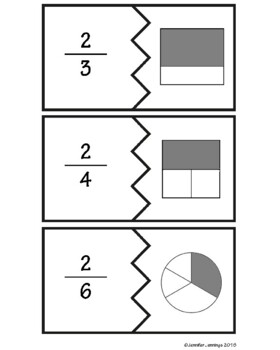 Fraction Puzzle Bundle