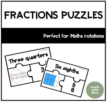 Fraction Puzzle & Memory Game