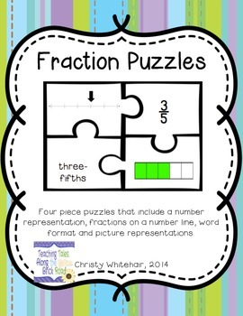 Fraction Puzzles: 80+ Puzzles!