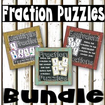 Fraction Puzzles Bundle