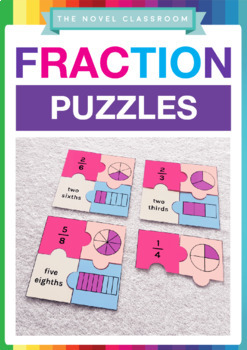 Fraction Puzzles - Math Activity