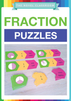 Fraction Puzzles - Math Activity