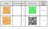 Fraction QR Codes