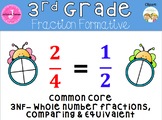 Comparing Fractions, Equivalent Fractions, Fractions on a