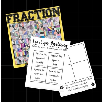 Fraction Quilt - 4.NF.A.1
