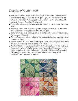 Fraction Quilts Complete Lesson