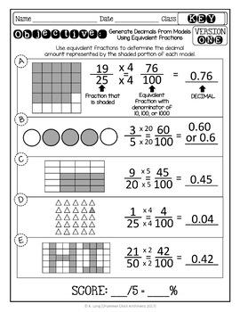 Fraction Quizzes