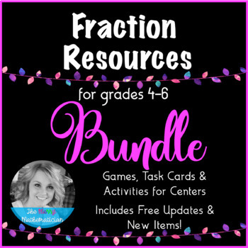 "Fraction Resources ""Forever"" Bundle for Grades 4-6"