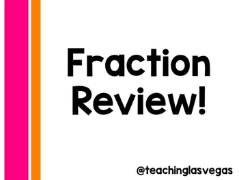 5th Grade Fraction Review