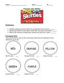 Fraction Review with Skittles