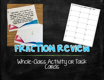 Fraction Review - Comparing, Adding, Subtracting, Multiplying