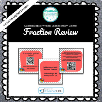Fraction Review Breakout Game (Content Below)