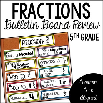 Fraction Review (Bulletin Board)