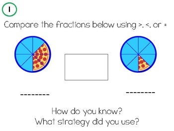 Fraction Review - Comparing, Adding/Subtracting, Simplifying