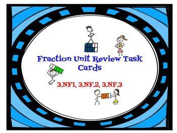 Fraction Review Digital Task Cards
