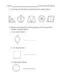 Fraction Review Packet | Distance Learning