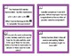 Fraction Review Print and Go Task Cards