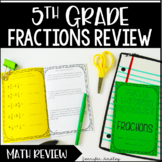 5th Grade Fractions Review