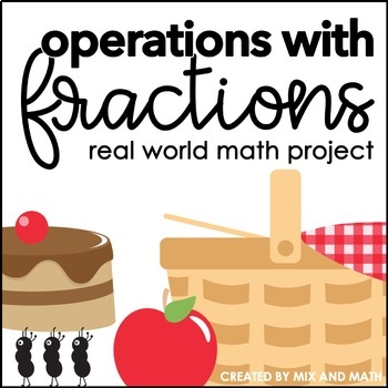 Operations with Fractions Project