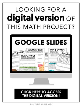 Operations with Fractions Project | Distance Learning
