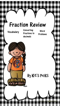Fraction Review by Kits Picks
