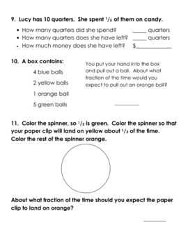 Fraction Review packet