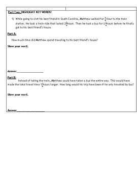 Fraction Reviw Sheet