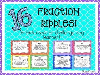 Fraction Riddles!