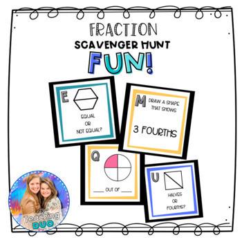 Fraction Scavenger Hunt