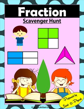 Fraction Scavenger Hunt- For Beginners