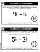 Fraction Scavenger Hunt Set 4: Subtracting Mixed Numbers (with Regrouping)