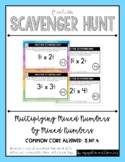 Fraction Scavenger Hunt Set 8: Multiplying Mixed Numbers