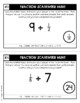 Fraction Scavenger Hunt Set 9: Dividing Unit Fractions and Whole Numbers