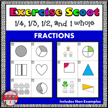 Math Task Cards - Fraction Scoot!
