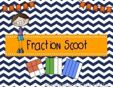 Fraction Scoot ~ Pictures, Sets, Number Lines