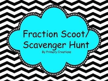 Fraction Scoot/ Scavenger Hunt