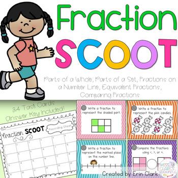 Fraction Scoot Task Cards