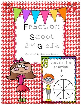Fraction Scoot for 2nd Grade