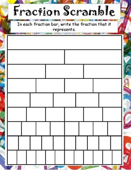 Fraction Scramble