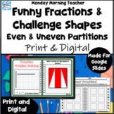 Fraction Sense Activities Even Uneven Partitions Problem S