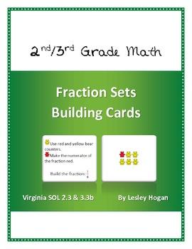 Fraction Sets Building Cards