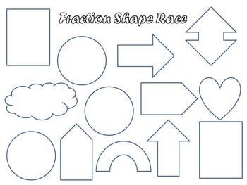 Fraction Shape Race