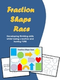 Fraction Shape Race