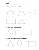 Fraction Shapes