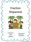 Fraction Shipwreck: Simplified/Equivalent Fractions (Grade