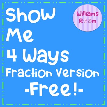 Fraction Show Me Four Poster