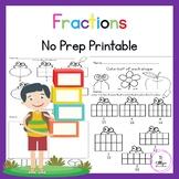 Fraction, Simple Fraction Worksheets