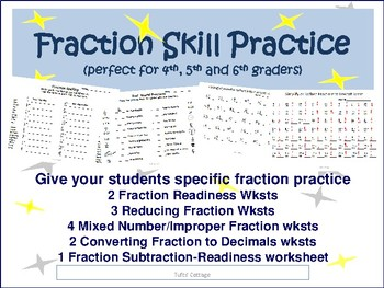 Reducing Fractions Skill Practice
